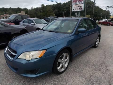 2008 Subaru Legacy for sale at Deer Park Auto Sales Corp in Newport News VA