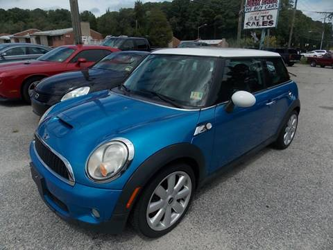 2007 MINI Cooper for sale at Deer Park Auto Sales Corp in Newport News VA