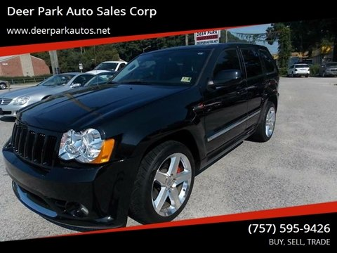 2010 Jeep Grand Cherokee for sale at Deer Park Auto Sales Corp in Newport News VA