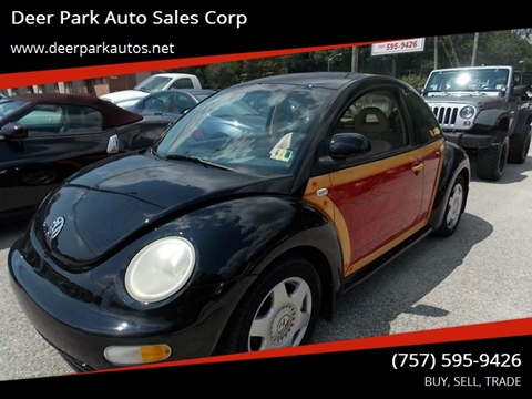 2000 Volkswagen New Beetle for sale at Deer Park Auto Sales Corp in Newport News VA