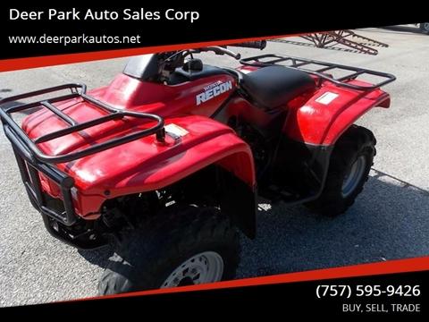 2000 Honda Recon for sale in Newport News, VA