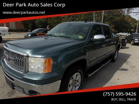 2011 GMC Sierra 1500 for sale at Deer Park Auto Sales Corp in Newport News VA