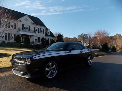 2013 Dodge Challenger for sale at Deer Park Auto Sales Corp in Newport News VA