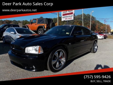 2006 Dodge Charger for sale at Deer Park Auto Sales Corp in Newport News VA
