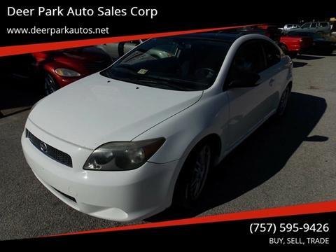 2005 Scion tC for sale at Deer Park Auto Sales Corp in Newport News VA