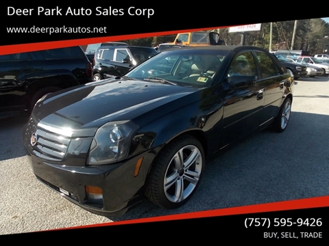 2005 Cadillac CTS for sale at Deer Park Auto Sales Corp in Newport News VA
