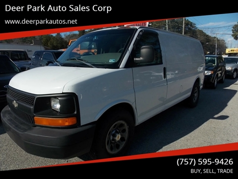 2003 Chevrolet Express Cargo for sale at Deer Park Auto Sales Corp in Newport News VA
