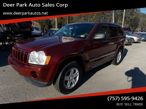 2007 Jeep Grand Cherokee for sale at Deer Park Auto Sales Corp in Newport News VA