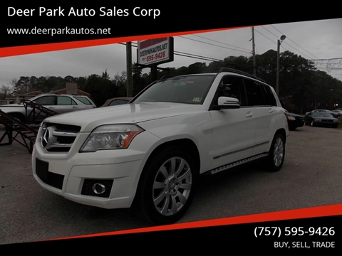 2010 Mercedes-Benz GLK for sale at Deer Park Auto Sales Corp in Newport News VA