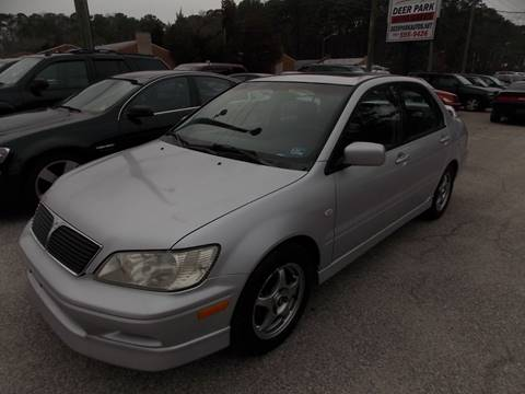 2003 Mitsubishi Lancer for sale at Deer Park Auto Sales Corp in Newport News VA
