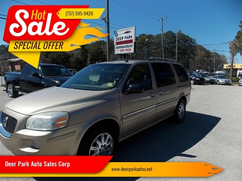 2006 Buick Terraza for sale at Deer Park Auto Sales Corp in Newport News VA