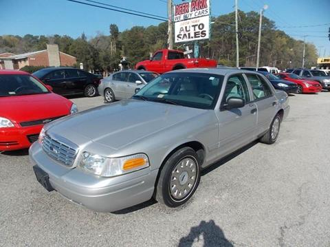 2004 Ford Crown Victoria for sale at Deer Park Auto Sales Corp in Newport News VA