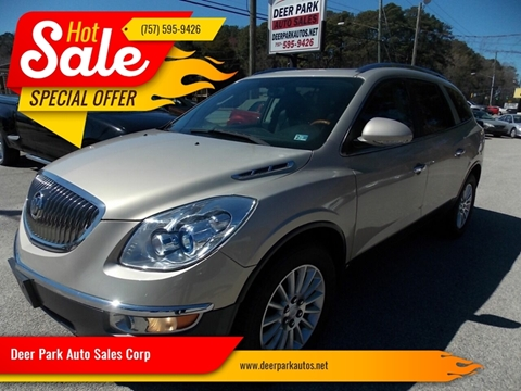 2009 Buick Enclave for sale at Deer Park Auto Sales Corp in Newport News VA