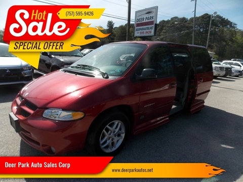 2000 Dodge Grand Caravan for sale at Deer Park Auto Sales Corp in Newport News VA