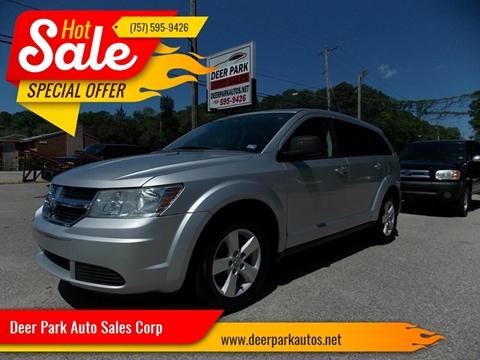 2009 Dodge Journey for sale at Deer Park Auto Sales Corp in Newport News VA