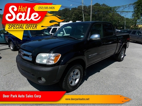 2006 Toyota Tundra for sale at Deer Park Auto Sales Corp in Newport News VA