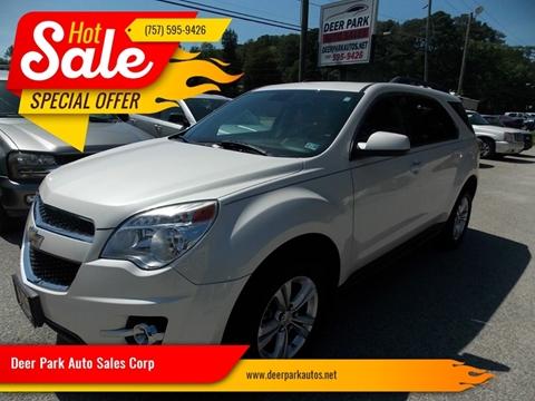 2015 Chevrolet Equinox for sale at Deer Park Auto Sales Corp in Newport News VA