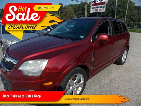 2008 Saturn Vue for sale at Deer Park Auto Sales Corp in Newport News VA