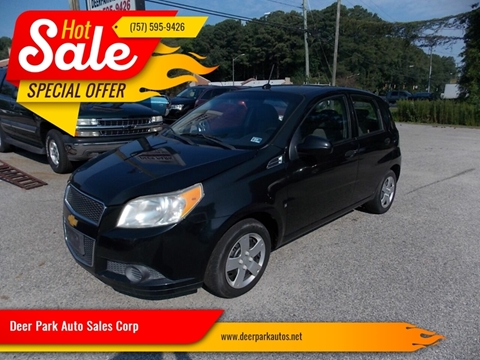 2009 Chevrolet Aveo for sale at Deer Park Auto Sales Corp in Newport News VA