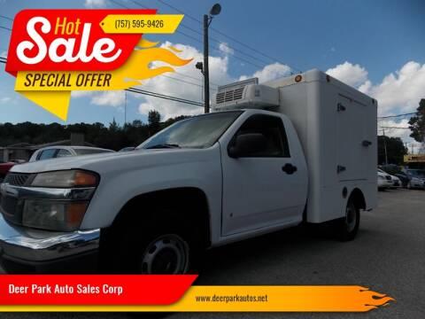 2007 Chevrolet Colorado for sale at Deer Park Auto Sales Corp in Newport News VA