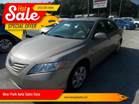 2007 Toyota Camry for sale at Deer Park Auto Sales Corp in Newport News VA