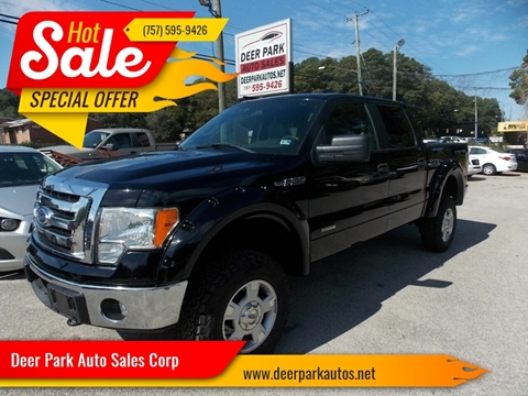2011 Ford F-150 for sale at Deer Park Auto Sales Corp in Newport News VA
