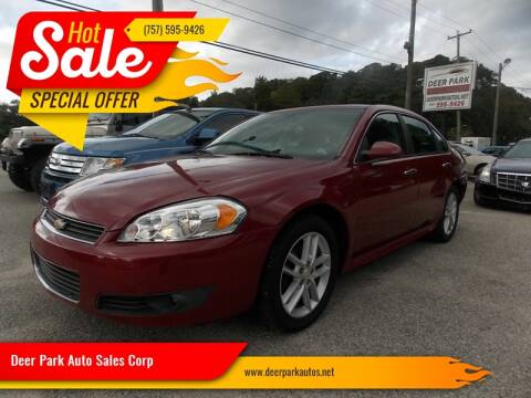 2013 Chevrolet Impala for sale at Deer Park Auto Sales Corp in Newport News VA