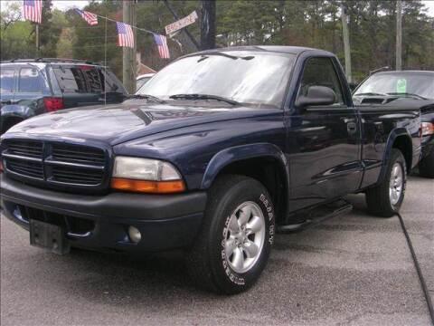 2003 Dodge Dakota for sale at Deer Park Auto Sales Corp in Newport News VA