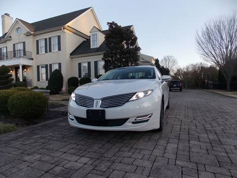 2016 Lincoln MKZ for sale at Deer Park Auto Sales Corp in Newport News VA