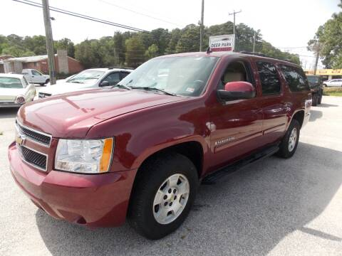2007 Chevrolet Suburban for sale at Deer Park Auto Sales Corp in Newport News VA
