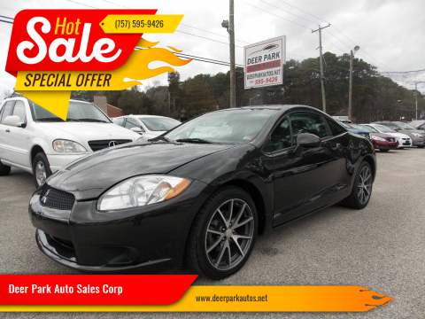 2012 Mitsubishi Eclipse for sale at Deer Park Auto Sales Corp in Newport News VA