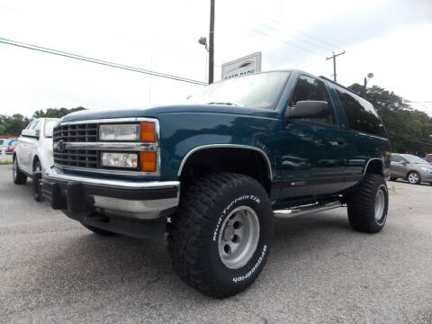 1992 Chevrolet Blazer for sale at Deer Park Auto Sales Corp in Newport News VA