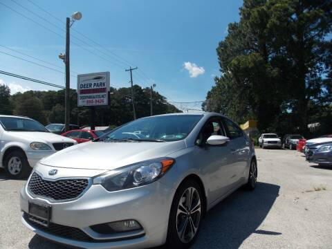 2016 Kia Forte for sale at Deer Park Auto Sales Corp in Newport News VA