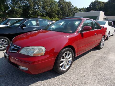 2001 Acura CL for sale at Deer Park Auto Sales Corp in Newport News VA
