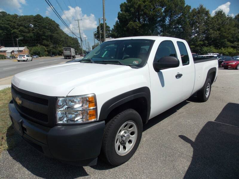 2012 Chevrolet Silverado 1500 for sale at Deer Park Auto Sales Corp in Newport News VA