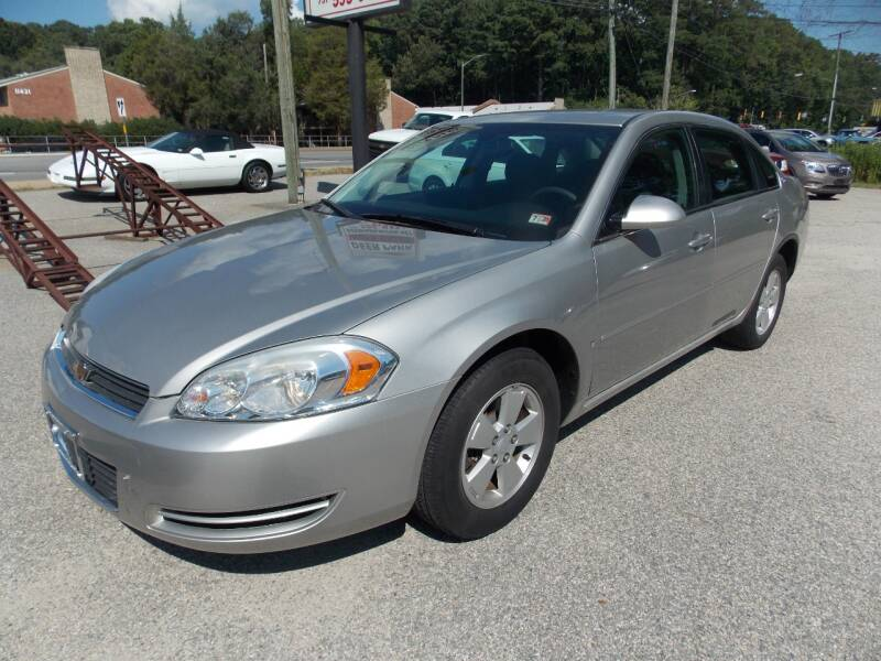 2008 Chevrolet Impala for sale at Deer Park Auto Sales Corp in Newport News VA