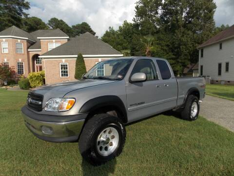 2002 Toyota Tundra for sale at Deer Park Auto Sales Corp in Newport News VA