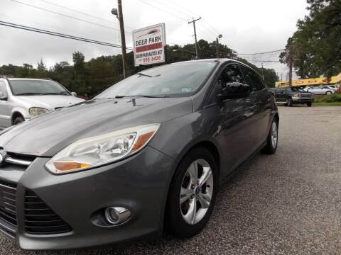 2012 Ford Focus for sale at Deer Park Auto Sales Corp in Newport News VA