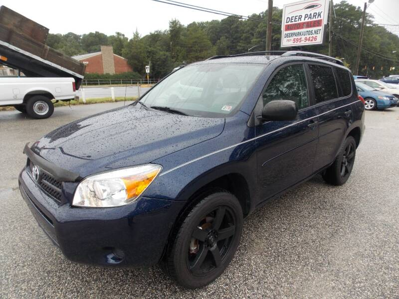2007 Toyota RAV4 for sale at Deer Park Auto Sales Corp in Newport News VA
