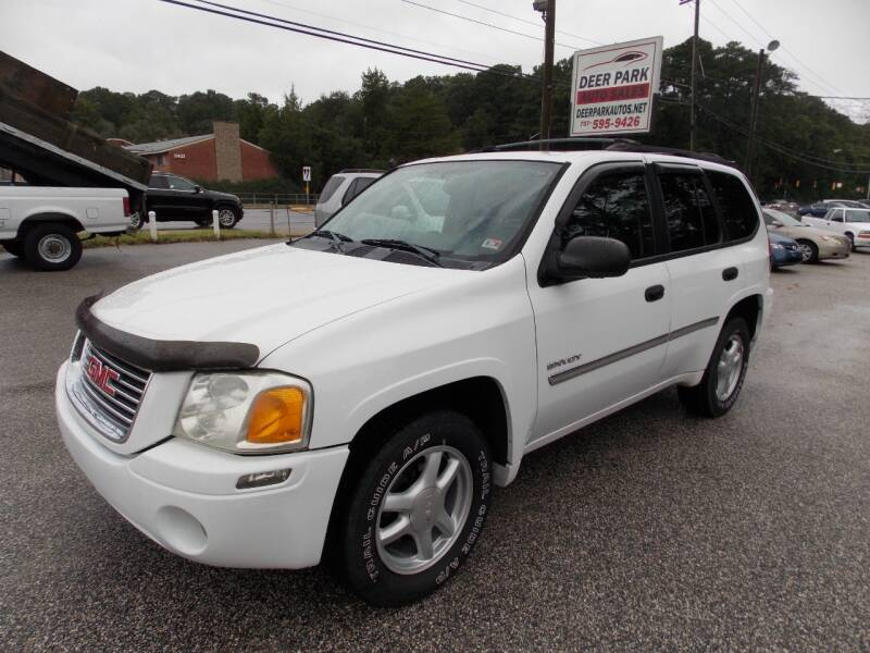 2006 GMC Envoy for sale at Deer Park Auto Sales Corp in Newport News VA