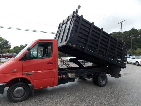 2004 Dodge Sprinter Cab Chassis for sale at Deer Park Auto Sales Corp in Newport News VA