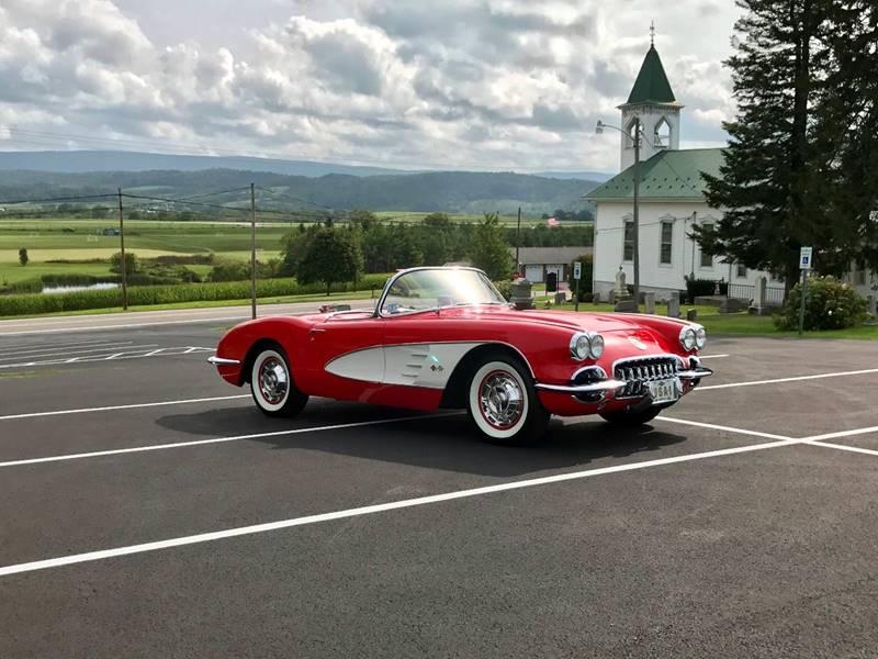 1960 Chevrolet Corvette 283ci/230hp*4spd*Red/Red*FrameOnResto In ...