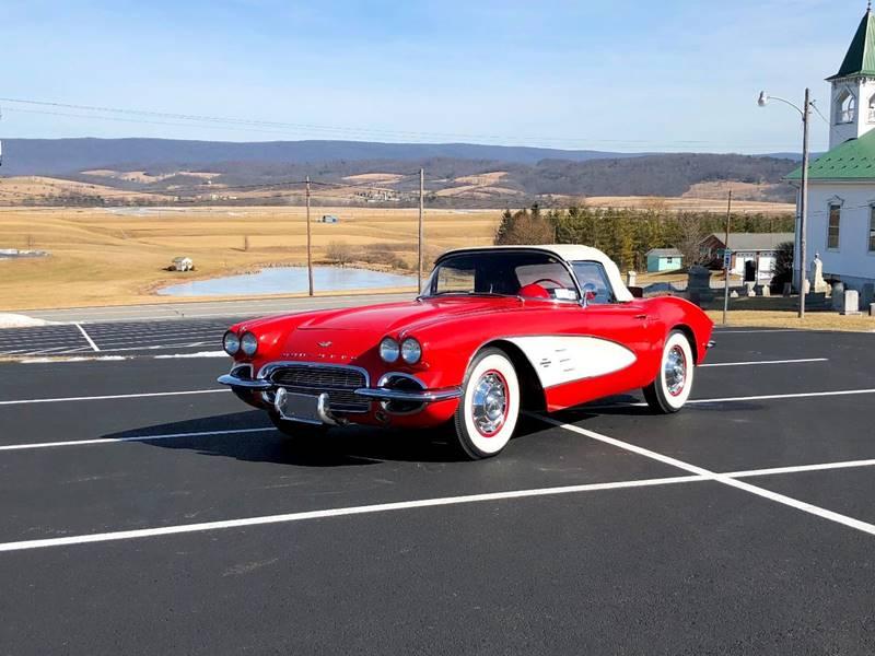 1961 Chevrolet Corvette RomanRed/Red*N.O.M327ci*4spd*L@@K ...