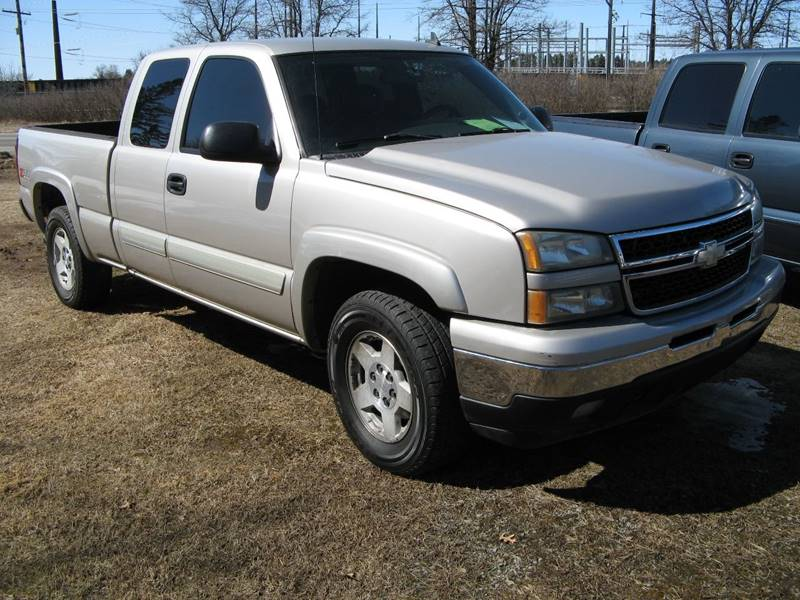 2006 Chevrolet Silverado 1500 Lt3 4dr Extended Cab 4wd 65 Ft Sb In