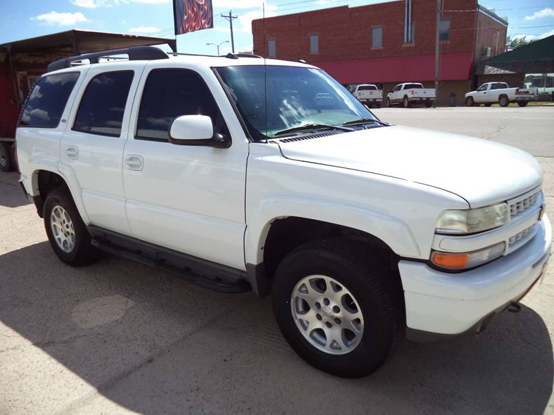 2005 Chevrolet Tahoe Z71 4wd 4dr Suv In Coldwater Ks