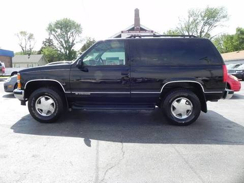 1998 Chevrolet Tahoe for sale in Mount Zion, IL
