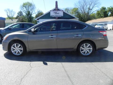 2015 Nissan Sentra for sale at Car Now in Mount Zion IL