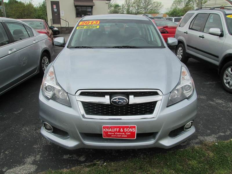 2013 Subaru Legacy for sale at Knauff & Sons Motor Sales in New Vienna OH
