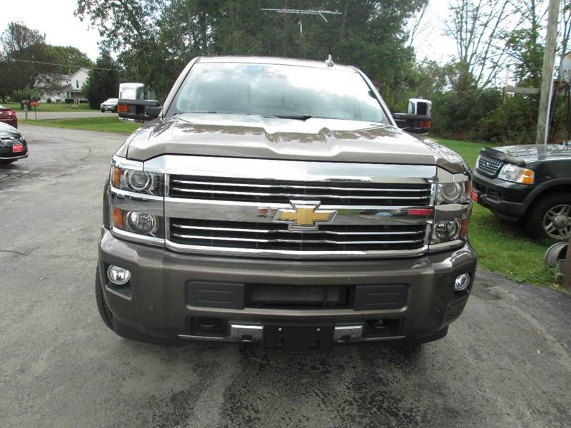 2015 Chevrolet Silverado 2500HD for sale at Knauff & Sons Motor Sales in New Vienna OH
