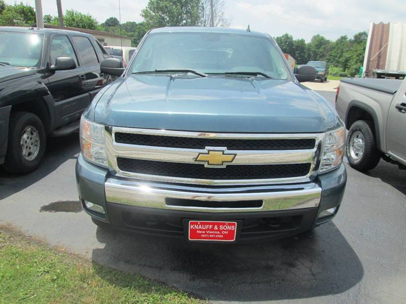 2010 Chevrolet Silverado 1500 for sale at Knauff & Sons Motor Sales in New Vienna OH